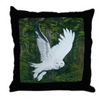 On Silent Wings: Throw Pillow