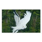 On Silent Wings: Rectangle Sticker 50 pk)