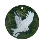 On Silent Wings: Ornament (Round)