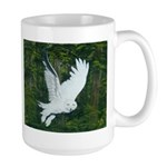 On Silent Wings: Large Mug
