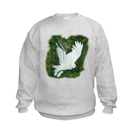 On Silent Wings: Kids Sweatshirt