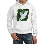 On Silent Wings: Hooded Sweatshirt