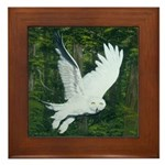 On Silent Wings: Framed Tile