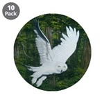 "On Silent Wings: 3.5"" Button (10 pack)"