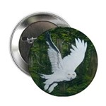 "On Silent Wings: 2.25"" Button"