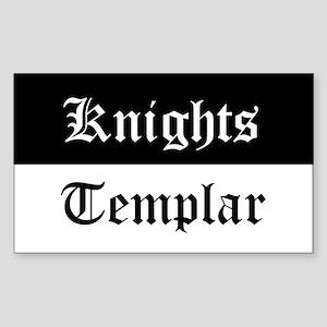 Knights Templar Beauceant Sticker