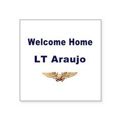 Lt Araujo Sticker