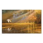 Rectangle Sticker 10 pk) Morning light
