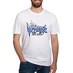 Bronx Graffiti White Fitted T-Shirt