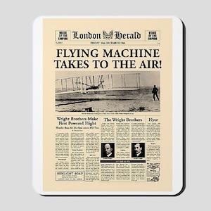 Wright Bros. Headline Mousepad