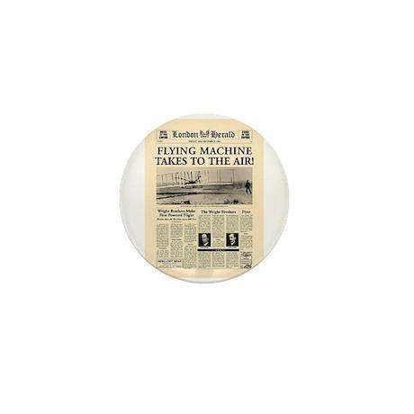 Wright Bros. Headline Mini Button (10 pack)