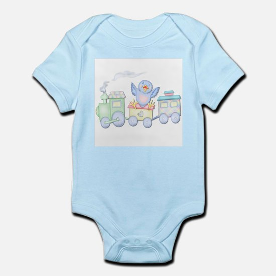 Future Engineer Train Infant Creeper