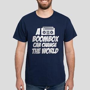 A Boombox Can Change the World Dark T-Shirt