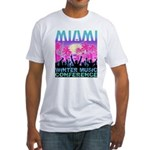 WMC White Fitted T-Shirt