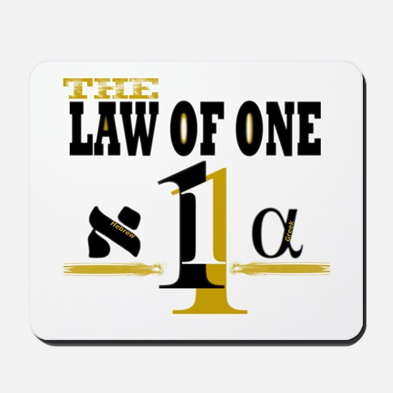 Law of One Mousepad
