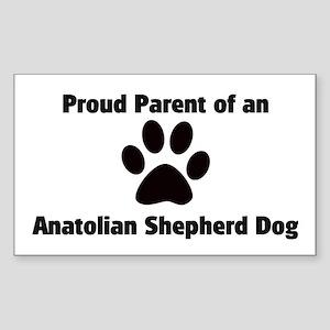 Anatolian Shepherd Dog Rectangle Sticker