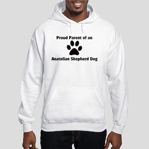 Anatolian Shepherd Dog Hooded Sweatshirt