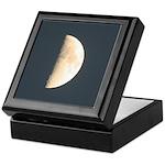 Half Moon Keepsake Box