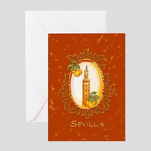 Sevilla / Spain (1) Greeting Card