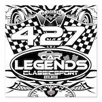 427 sport Square Car Magnet 3