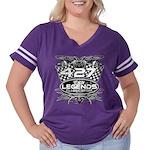 427 sport Women's Plus Size Football T-Shirt