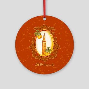 Sevilla / Spain (1) Ornament (Round)