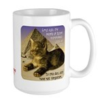 Cats in Egypt Large Mug