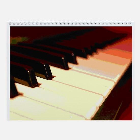 Piano Wall Calendar