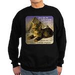 Cats in Egypt Sweatshirt (dark)