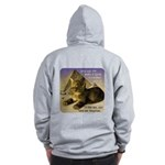 Cats in Egypt Zip Hoodie