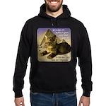 Cats in Egypt Hoodie (dark)