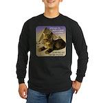 Cats in Egypt Long Sleeve Dark T-Shirt