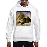 Cats in Egypt Hooded Sweatshirt