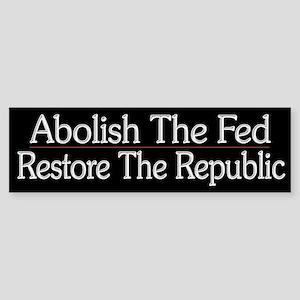 Abolish The Fed - Sticker