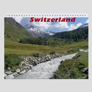 Fextal Valley, Switzerland Wall Calendar