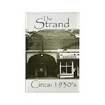 Vintage Strand Rectangle Magnet