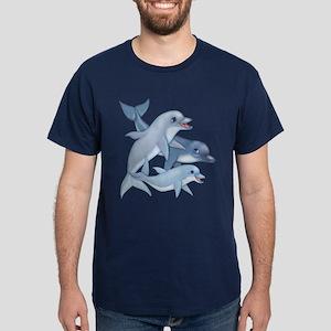 Dolphin Family Dark T-Shirt