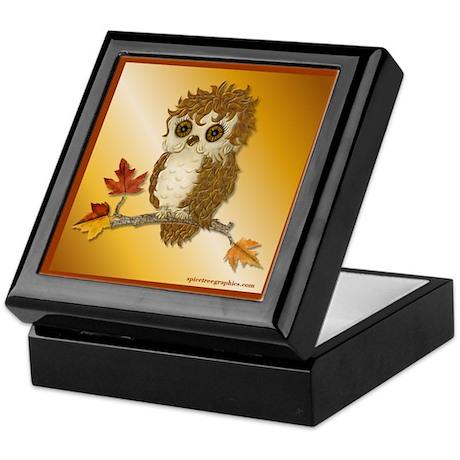 Whoo Me Owl Keepsake Box