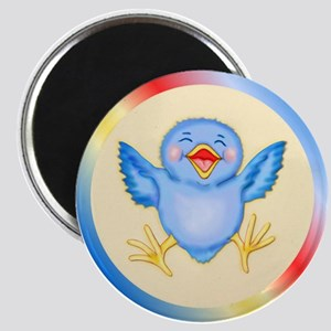 Baby Bluebird Happiness Magnet