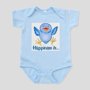Baby Bluebird Happiness Infant Bodysuit
