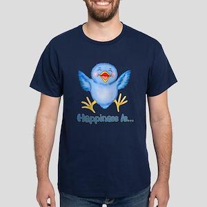 Baby Bluebird Happiness Dark T-Shirt