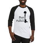 Run for the Fallen T-shirt (baseball style)