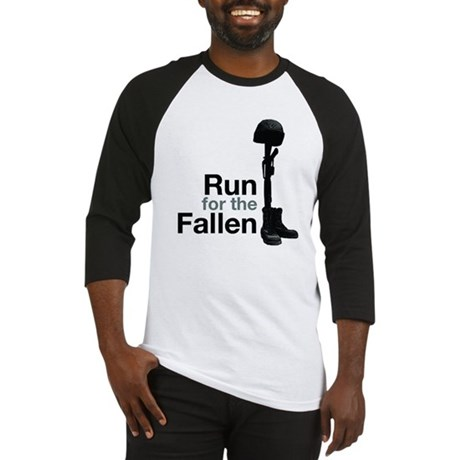 Run for the Fallen T-shirt (baseball style)