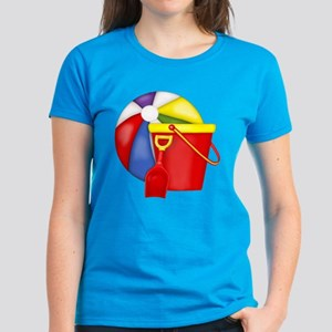 Beach Toys Women's Dark T-Shirt