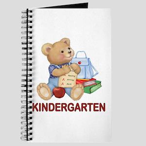 School Days Teddy - Kindergarten Journal