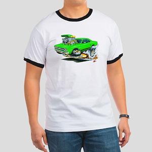 Plymouth GTX Green Car Ringer T