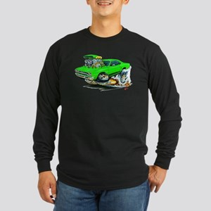 Plymouth GTX Green Car Long Sleeve Dark T-Shirt