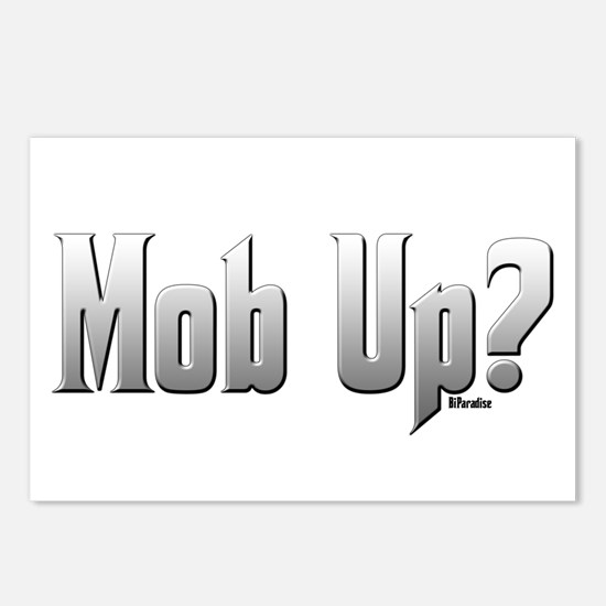 Mob Up? Postcards (Package of 8)