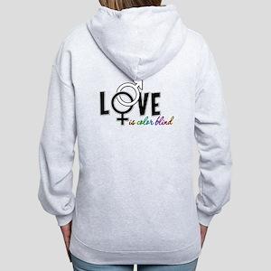 Love is Colorblind Women's Zip Hoodie