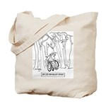 Before Man Walked Upright Tote Bag